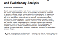 Publication: Phylogeny-aware gap placement prevents errors in sequence alignment and evolutionary analysis